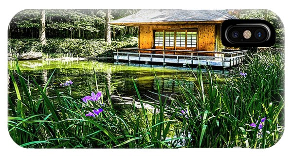 Japanese Gardens II IPhone Case