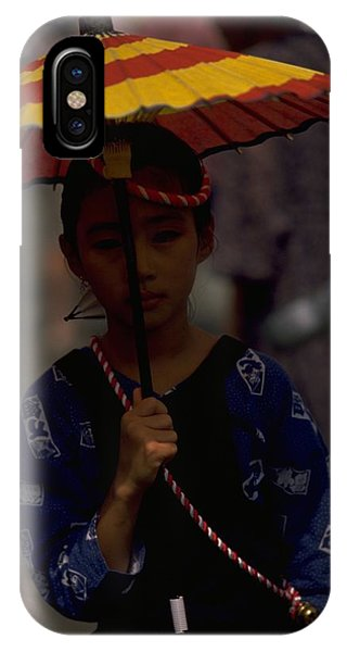 Japanese Girl IPhone Case