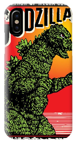 Japanese Godzilla  IPhone Case