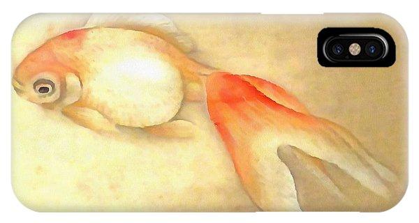 Japanese Goldfish IPhone Case