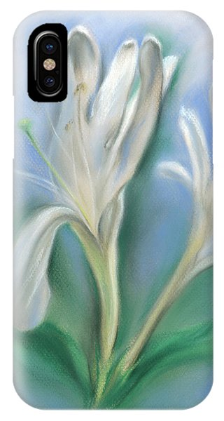 Japanese Honeysuckle Flowers IPhone Case
