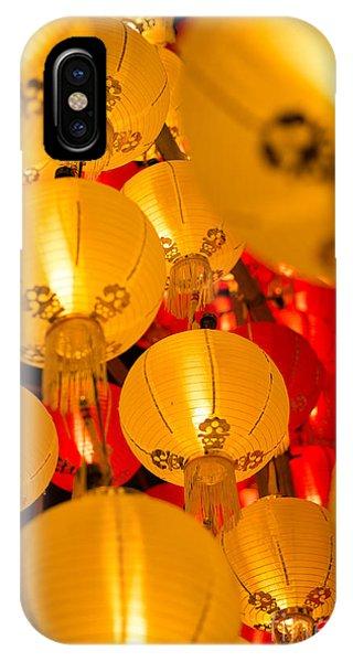 Japanese Lantern 3 IPhone Case
