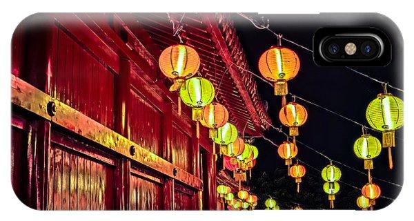 Japanese Lanterns 10 IPhone Case
