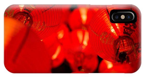 Japanese Lanterns 6 IPhone Case