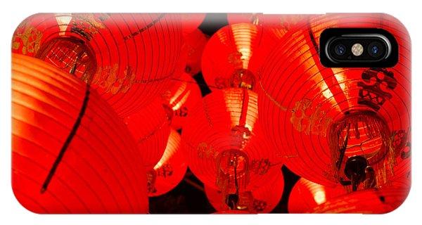 Japanese Lanterns 7 IPhone Case