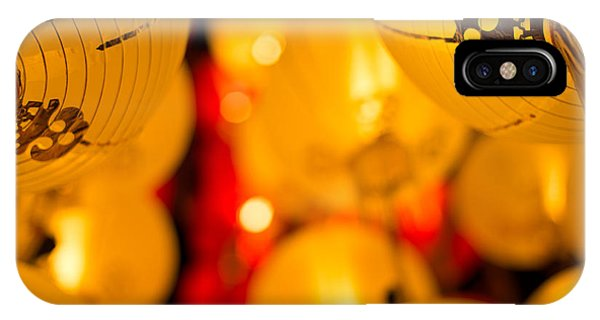 Japanese Lanterns 8 IPhone Case