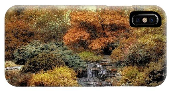 Golden Gardens iPhone Case - Japanese Rock Garden by Jessica Jenney