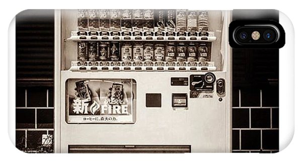 Famous Artist iPhone Case - #japanese #soda Machine. They Sell by Alex Snay
