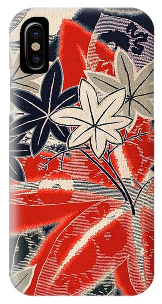Tint iPhone Case - Japanese Style Maple Interior Art Painting. by ArtMarketJapan