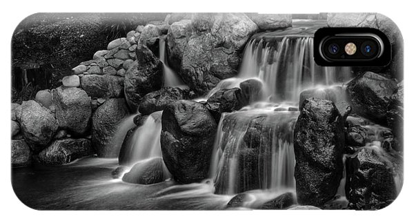 Japanese Waterfalls IPhone Case