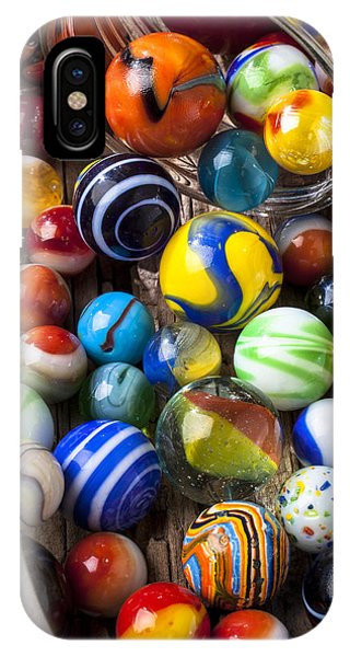 Novelty iPhone Case - Jar Of Marbles by Garry Gay