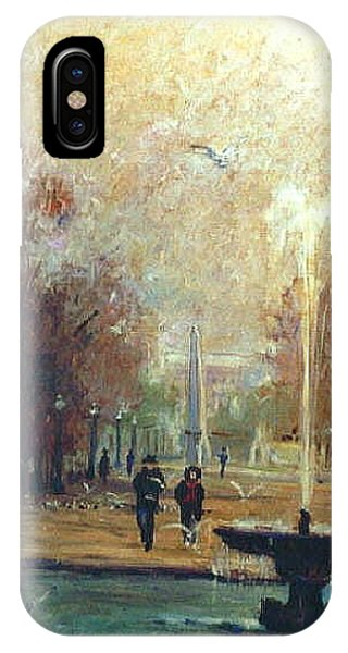 Jardin Des Tuileries IPhone Case