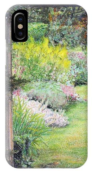 Jardin Phone Case by Muriel Dolemieux