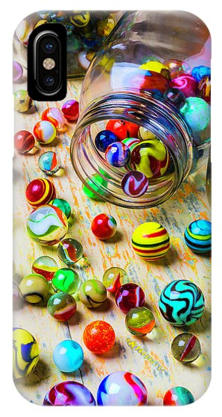 Novelty iPhone Case - Jars Of Marbles by Garry Gay