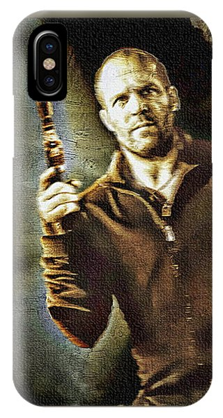 Jason Statham - Actor Painting IPhone Case