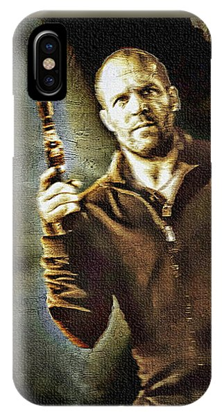 Jason Statham - Actor Painting IPhone Case