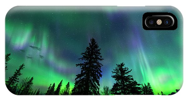 Jasper National Park Aurora IPhone Case