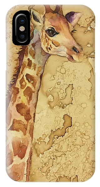 Java Giraffe IPhone Case