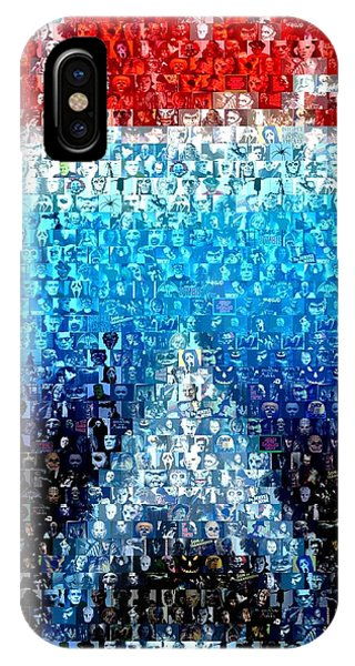 Jaws Horror Mosaic IPhone Case