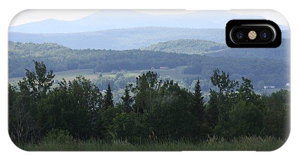 Jay Peak From Irasburg IPhone Case