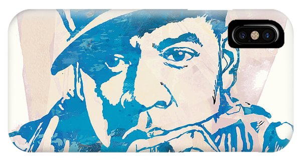 Jay-z  Etching Pop Art Poster IPhone Case