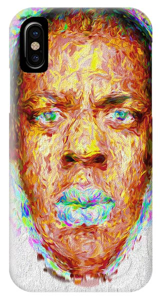Jay Z Painted Digitally 2 IPhone Case