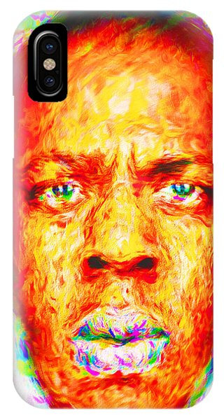Jay-z Shawn Carter Digitally Painted IPhone Case