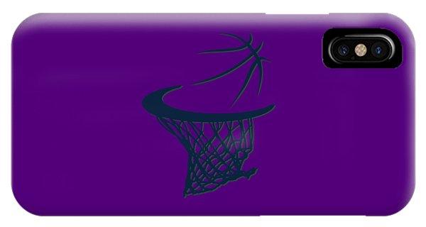 Jazz Basketball Hoop IPhone Case