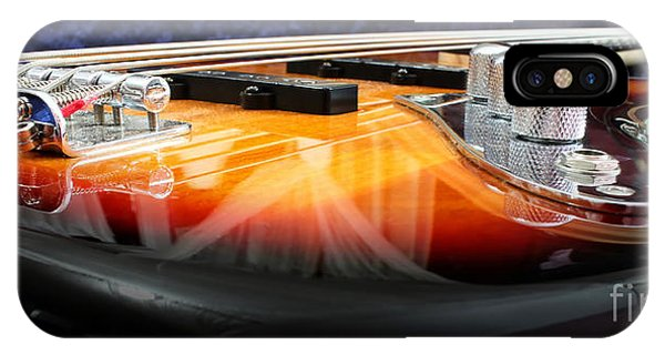 Bass iPhone Case - Jazz Bass Beauty by Todd Blanchard