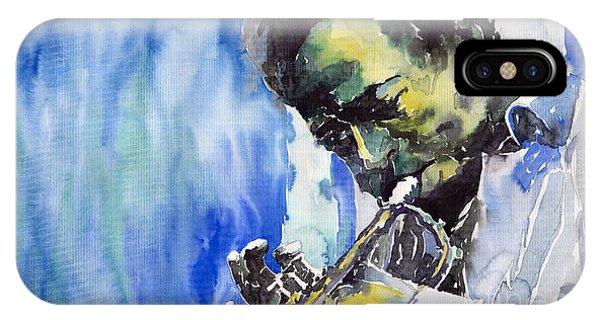 iPhone Case - Jazz Miles Davis 5 by Yuriy Shevchuk