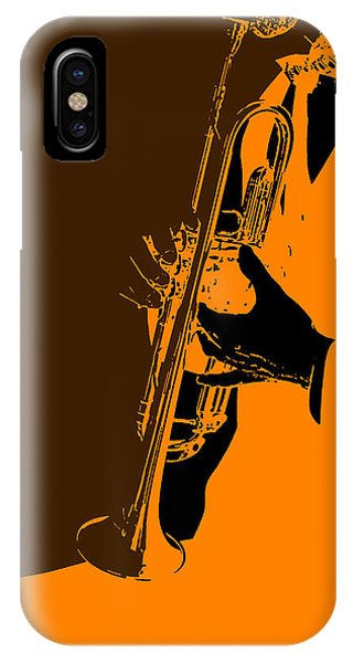 Saxophone iPhone Case - Jazz by Naxart Studio
