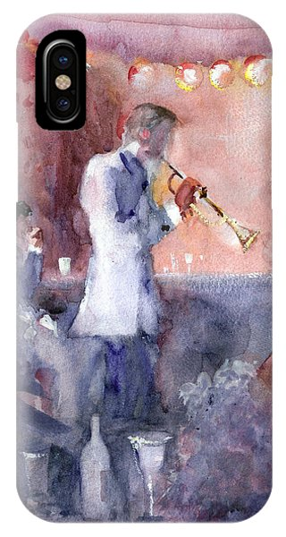 Jazz Nights IPhone Case
