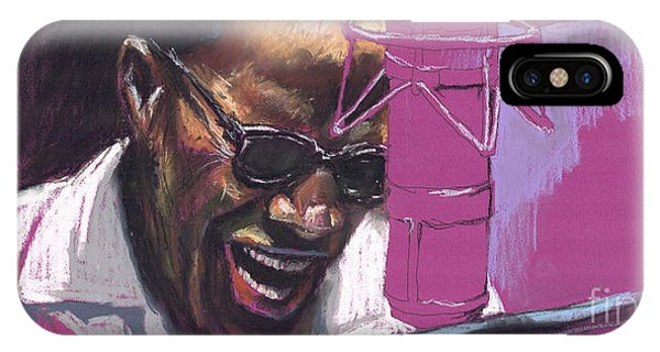 Figurative iPhone Case - Jazz Ray by Yuriy Shevchuk