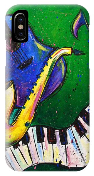 Jazz Time IPhone Case