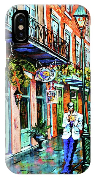 French Artist iPhone Case - Jazz'n by Dianne Parks