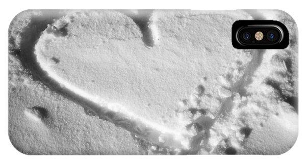 Winter Heart IPhone Case