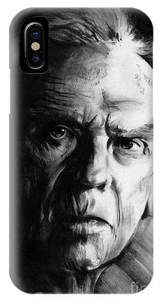 Jean-louis Trintignant IPhone Case