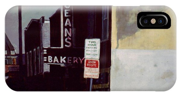 Jean's Bakery IPhone Case