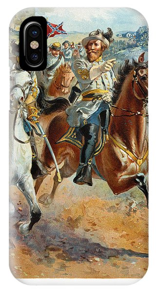 1862 iPhone Case - Jeb Stuarts Cavalry 1862 by Granger