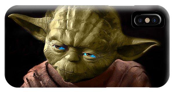 Jedi Yoda IPhone Case