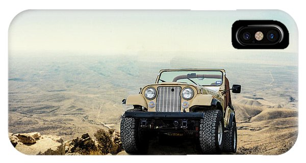 Jeep On A Mountain IPhone Case
