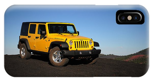 Jeep Rubicon In The Cinders IPhone Case