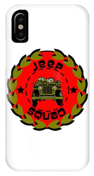 Jeep Squad IPhone Case