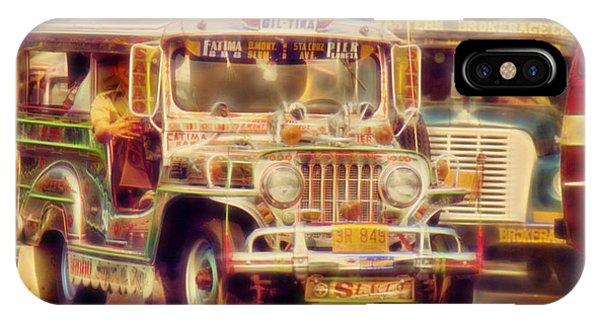 Jeepney Manila IPhone Case