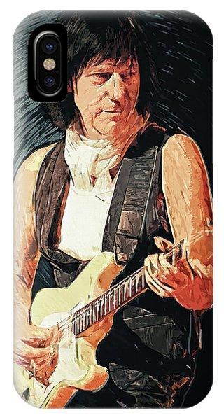 Eric Clapton iPhone Case - Jeff Beck by Zapista Zapista