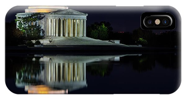 The Jefferson At Night IPhone Case