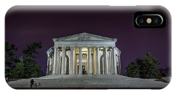 Jefferson At Night IPhone Case