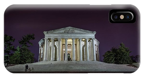 Jefferson At Night IPhone Case