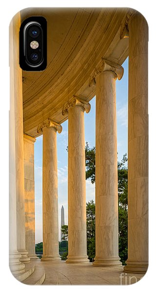 Jefferson Memorial Columns IPhone Case