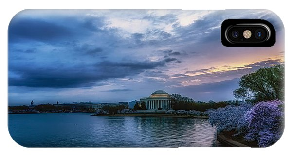 Jefferson Memorial iPhone Case - Jefferson Memorial Dawn by Thomas R Fletcher